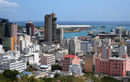 port louis, mauritius city and harbour